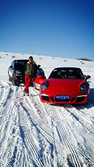 Orlando with a racing heart #icedrifting #audiwintersports #porsche #snowforce #ice&snow #drivingonice (orlando yang) Tags: ice porsche drivingonice icedrifting snowforce audiwintersports