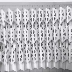 kinetic_paper (mike.tanis) Tags: art geometric architecture square design video triangle origami geometry science surface structure kinetic cube physics hexagon kirigami lattice kagome auxetic transformable