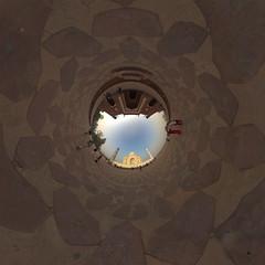 Taj Mahal Panorama (jeglikerikkefisk) Tags: panorama india taj tajmahal agra indien rajasthan 360 sphericalpanorama kugelpanorama littleplanet sphrischespanorama