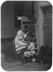 In the backyard (sergey245x) Tags: boy girl backyard        xix    19  aokarelin