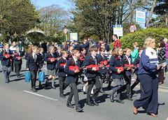 Kirkham Grammar School (DaveWilcock) Tags: school ukulele band parade lytham grammar kirkham stgeorgesday