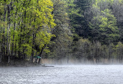 Dietramszeller Waldweiher (Claude@Munich) Tags: trees misty germany bayern bavaria spring pond oberbayern upperbavaria foggy explore bume springtime frhling weiher frhjahr dietramszell claudemunich waldweiher dietramszellerwaldweiher explore100160425