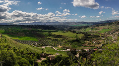 Panoramic view from Ronda (andbog) Tags: panorama espaa nature clouds landscape countryside spain nuvole stitch widescreen sony country natura lookout andalucia hills campagna ronda es alpha sonya andalusia sel overlook paesaggio spagna colline csc oss ilce sonyalpha mirrorless 1650mm a6000 sony sweeppanorama emount selp1650 sonyalpha6000 ilce6000 sonya6000 sonyilce6000 sony6000 6000