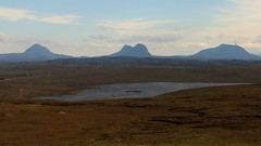 Lonely Loch Cul Fraioch, Stoer (milnefaefife) Tags: sea mountains landscape coast scotland highlands hills loch moor sutherland moorland suilven stoer assynt culmor canisp northwesthighlands pointofstoer stoerhead lochculfraioch