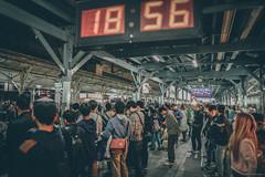 18:56 Taichung station   in Taiwan Taichung .   DSC_0782-3 (Ming - chun ( very busy )) Tags: street travel building car station nikon nightscape nightshot 28mm taiwan nikkor       d800  streetshot nightscenes  28mmf18       streetsnap streetscence  taichungcity    nikon28mmf18 nikon28mm18   f1828mm