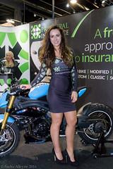 Manchester Bike Show 2016 - Principal Insurance girl Gemma (Sacha Alleyne) Tags: show sony babe motorbike moto motorcycle brunette 2016 promomodel promotionalmodel promogirl eventcity a6300 manchesterbikeshow gemmalouise