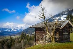 2016 Schuppen mit Aussicht (jeho75) Tags: alps barn zeiss austria tirol österreich sony schuppen alm alpen frühling ilce kitzbühel 7m2