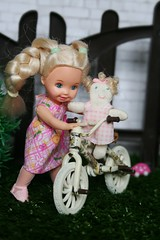 IMG_5489 (irinakopilova) Tags: baby doll little sister small barbie shelly kelly