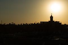 Marrakech sunset (orel30) Tags: sunset morocco maroc marrakech mosque