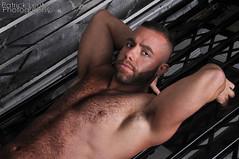 Eddy (Violentz) Tags: bear portrait hairy man male guy beard body muscle bearded physique patricklentzphotography
