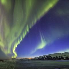Stairway to heaven (Alex Tudorica) Tags: lights iceland heaven stairway oxygen aurora northern borealis autofocus snaefellsnes astrometrydotnet:status=failed flickrtravelaward astrometrydotnet:id=nova1521585