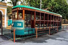 Bonde 38 - Fabricado em 1912 (RAOOS Irie) Tags: streetphotography tram rua bonde memorialdoimigrante bonde38 raoos