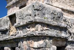 Temple of the Frescos detail (Mal B) Tags: detail wall port mexico temple ruins maya tulum mayan iguana trade roo costal sites yucatanpeninsula quintana frescos obsidian qroo nikond600 templeofthefrescos juandaz 77780tulum precolumbianmayasitezama meaningcityofdawn zamameaningcityofdawn zamacityofdawn tulmyucatanmayanwordforfence wall1ortrench