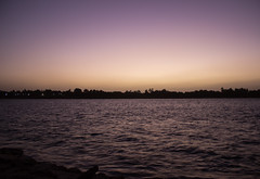 Sunset (cpt_ahmed93) Tags: sunset canon egypt aswan nileriver