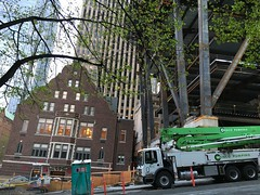 The Mark construction continues (Seattle Department of Transportation) Tags: seattle club truck construction downtown progress transportation rainier honeybucket themark sdot