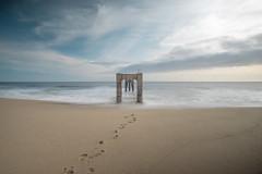 Abandoned Pier (raykwan312) Tags: ocean california cloud abandoned beach zeiss pier sony wave highway1 davenport carlzeiss sonya7r
