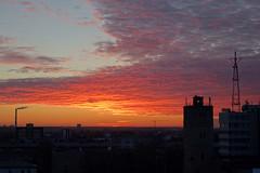 Flaming Sunset in Skyline of Tallinn (tarmo888) Tags: sunset zeiss europe tallinn estonia sundown sony special tallin sonycybershot eesti estland tallinna carlzeiss harjumaa loojang sooc qx100  autohdr geosetter geotaggedphoto smartlens foto  year2016 lensstyle variosonnart1828100