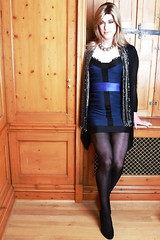 Reb_4th Space (rebecca47x) Tags: blue dress space tgirl transgender transvestite trans fourth crossdresser