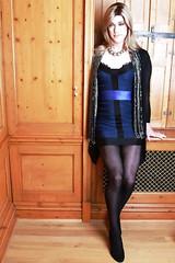 Reb_4th Space (rebecca47x) Tags: blue dress space tgirl transgender transvestite trans fourth crossdresser