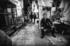 Market (Kunotoro) Tags: china street city people urban bw streets monochrome asian photography hongkong blackwhite asia market chinese streetphotography streetlife fujifilm soe asiapeople stphotographia streetpassionaward blackwhitepassionaward flickrtravelaward fujixphotography