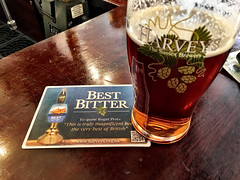 Harvey's Best Bitter (RobW_) Tags: birthday cats london beer 40th back pub saturday best april bitter wandsworth andys harveys 2016 16apr2016