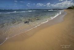 The beautiful waters of the Coconut Coast on the Island of Kauai (Freshairphotography) Tags: ocean tourism beach water beautiful island hawaii sand waves peaceful pacificocean kauai serene tidal coconutcoast islandofkauai