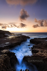 Koko Head Reef (MICHAEL A SANTOS) Tags: ocean sunrise canon hawaii waves oahu reef eastside whitewash eastshore hawaiianbeaches canon1740mml hawaiibeaches leefilter kaiwichannel michaelasantos canon5dmarkiii saintsphotography