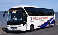 OU16EVL  Festival Travel, Kirkliston (highlandreiver) Tags: travel bus festival coach edinburgh rally lancashire blackpool neoplan kirkliston evl tourliner ou16 ou16evl