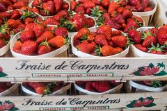 20160415 Provence, France 02275 (R H Kamen) Tags: food france retail fruit strawberries abundance marketstall vaucluse foodmarket carpentras plentiful provencealpesctedazur rhkamen