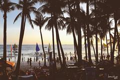 Happy Hour (Daniel Y. Go) Tags: travel vacation beach fuji philippines shangrila boracay shangrilaboracay x100t fujix100t