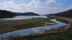 """Der """"neue"""" Schieder See 2016_04_15 (DeeDee Pix) Tags: lake water river see stream wasser artificial reservoir damm fluss emmer stausee 2016 deedeepix schieder umflut"""