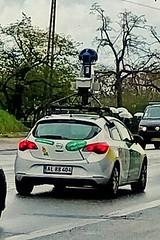 Recursive Google Maps (mikkelfrimerrasmussen) Tags: street car copenhagen google view maps meta technique kbenhavn advanced selfie