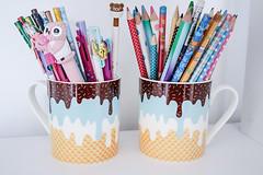 Ice Cream Mugs (Kya Cookie) Tags: cup melting sprinkles icecream target melt cutemug targetaustralia icecreammug
