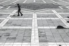 roller skates (Berkan Byktmbk) Tags: street boy blackandwhite bw monochrome outdoor geometry streetphotography human roller fujifilm streetphoto skates xt1
