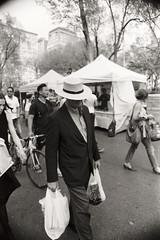 AA027 (heavyasmountains) Tags: nyc newyorkcity blackandwhite slr film 35mm photography nikon candid streetphotography noflash 24mm fm3a filmphotography streetstyle