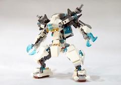 70223 - ice mech 02 (chubbybots) Tags: lego mech moc 70223