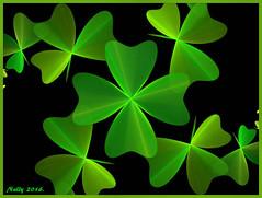 *Happy & Lucky New Year 2016... (MONKEY50) Tags: abstract color green digital fractal hypothetical musictomyeyes autofocus artdigital greenscene shockofthenew flickraward awardtree netartii