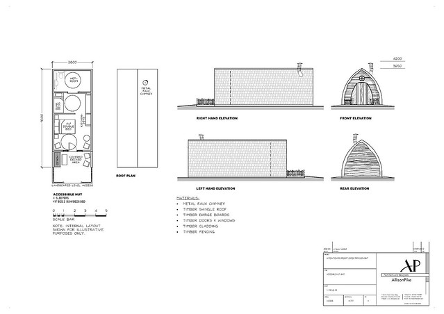 Accessible Hut Plan