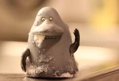 Mama, I'm cold! (Hannhell) Tags: winter ice moomins groke