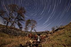 Startrails  AWB 2 800 (Cilmeri) Tags: wales stars astrophotography astronomy nightshots nightsky snowdonia startrails gwynedd polaris eryri northstar trawsfynydd abergeirw