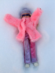 2183365 (dagber) Tags: winter snow fun stacie doll mattel
