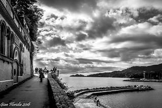 Rapallo: Tra sole e nuvole...