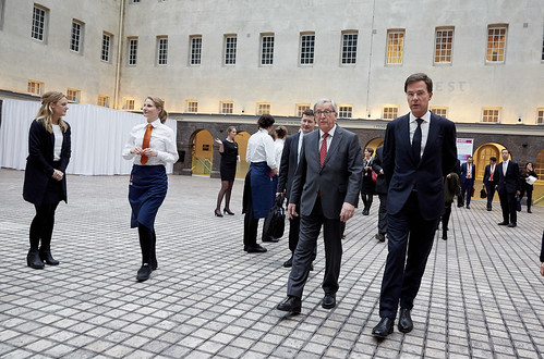 Aankomst EU commissie / Arrival EU Commission