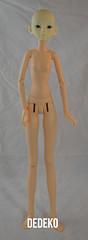 Rosette Girl Body with Resinsoul Li Head (Dedeko) Tags: white girl li doll skin body bjd normal soom hybrid rosette compare resinsoul