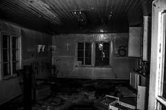 La maison du crucifix (yannick_gagnon) Tags: old urban canada abandoned photoshop vintage photography photo photographie pentax quebec oldhouse sombre qubec maison hdr vieille urbain urbex abandonn dander quebecois photomatixpro rurex hdrquebec adobephotoshoplightroom photoquebec hdraward hdrqubec pentaxk50 visiteinterdite