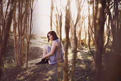 (alice-elisabeth) Tags: trees light portrait me girl self approved 3365