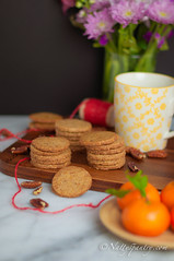 The Limited Edition Chinese New Year Coconut Sugar Pecan Shortbread Cookie Recipe (nattyspantry) Tags: new red cookies recipe monkey cookie sweet coconut good year chinese palm sugar fortune butter luck thai pantry nut pecan shortbread natty 2016                nattyspantry