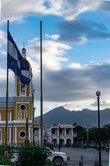 bandera (ismail.esen) Tags: cloud flag granada bandera nicaragua ni