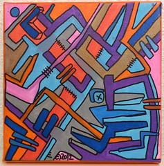 Geometrik by Tarek (Pegasus & Co) Tags: urban streetart art collage painting skulls drawing contemporaryart collages lifestyle drawings dessin hype beautifulcolors bd artcontemporain dessins artistes  urbain tarek