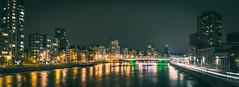 The Meuse @ Night (Falcdragon) Tags: city panorama night river de belgium 55mm maas liege tone meuse lige ilce7 sonya7alpha sonyzeisssonnarfe1855mza sonyzeisssonnarfe1855mmza